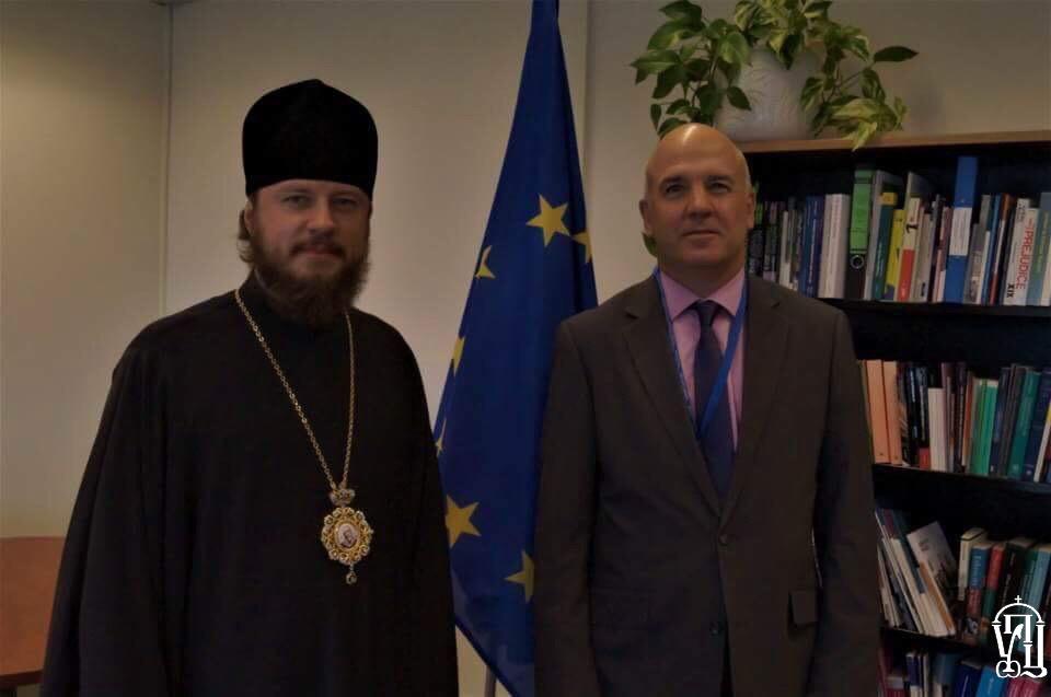 Представник УПЦ МП озвучив Комісару з прав людини Ради Європи свою версію релігійних подій в Україні