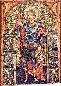 Великомученика Димитрія вшановують 8 листопада християни східної традиції
