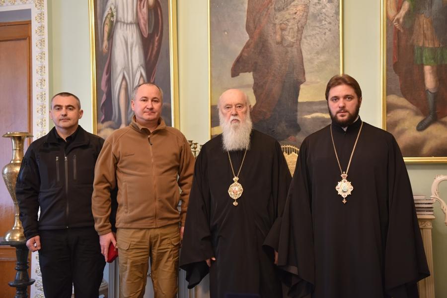 Патріарх Філарет отримав Подяку з відзнакою СБУ
