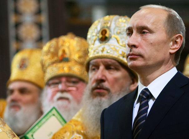 Путін вперше приїде на Архиєрейський собор РПЦ