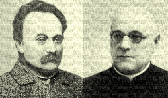 Д-р теології Конрад vs д-ра філософії Франка