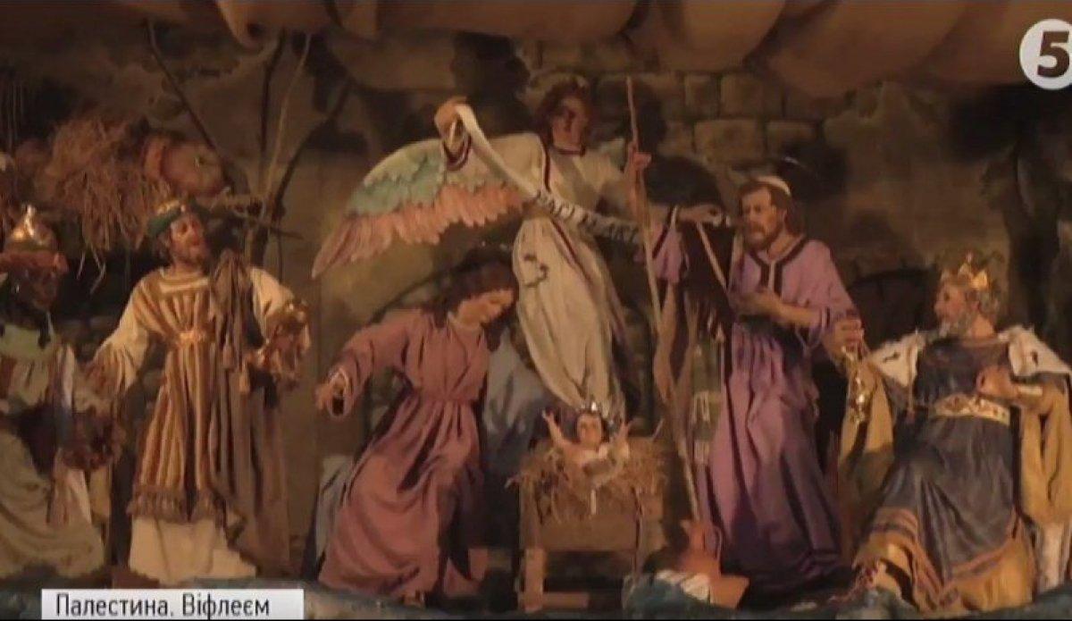 У Вифлеємі поставили особливий різдвяний вертеп