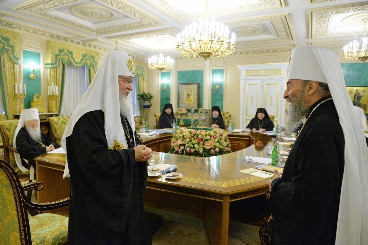Патріарха Кирила осінило: Лише УПЦ (МП) здатна об'єднати українське суспільство
