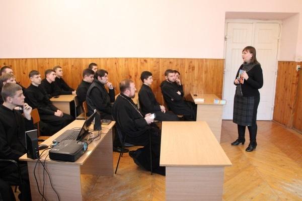 Науковець прочитав священикам УПЦ КП лекцію