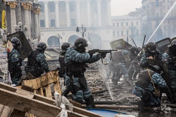 Подавлявшего Евромайдан «беркутовца» из Крыма приравняли к мученикам за Христа