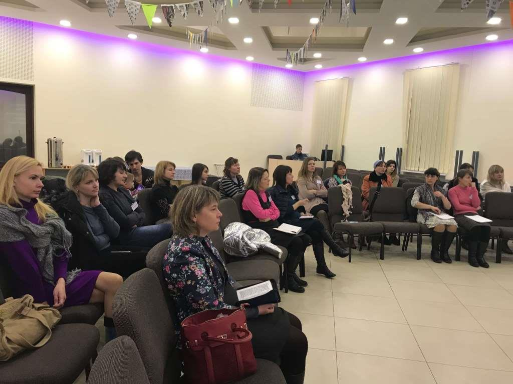 Баптисты провели в Днепре конференцию переводчиков жестового языка