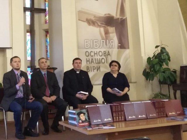 Лютерани переклали українською п'ять томів Мартина Лютера