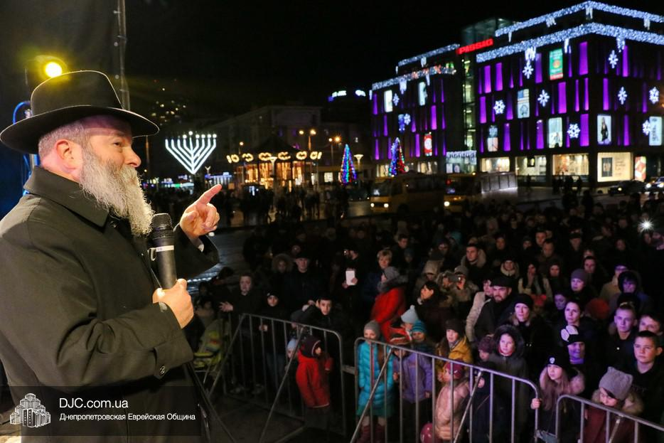 Иудеи отпраздновали Хануку и провели всеукраинскую конференцию, на которой подписали «Декларацию веры»