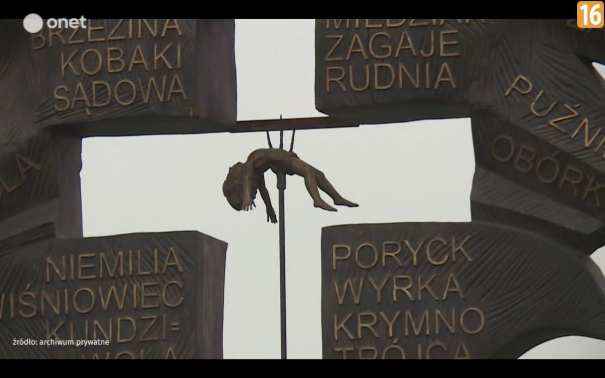 У Польщі планують встановити пам'ятник: хрест з дитиною нанизаною на вила