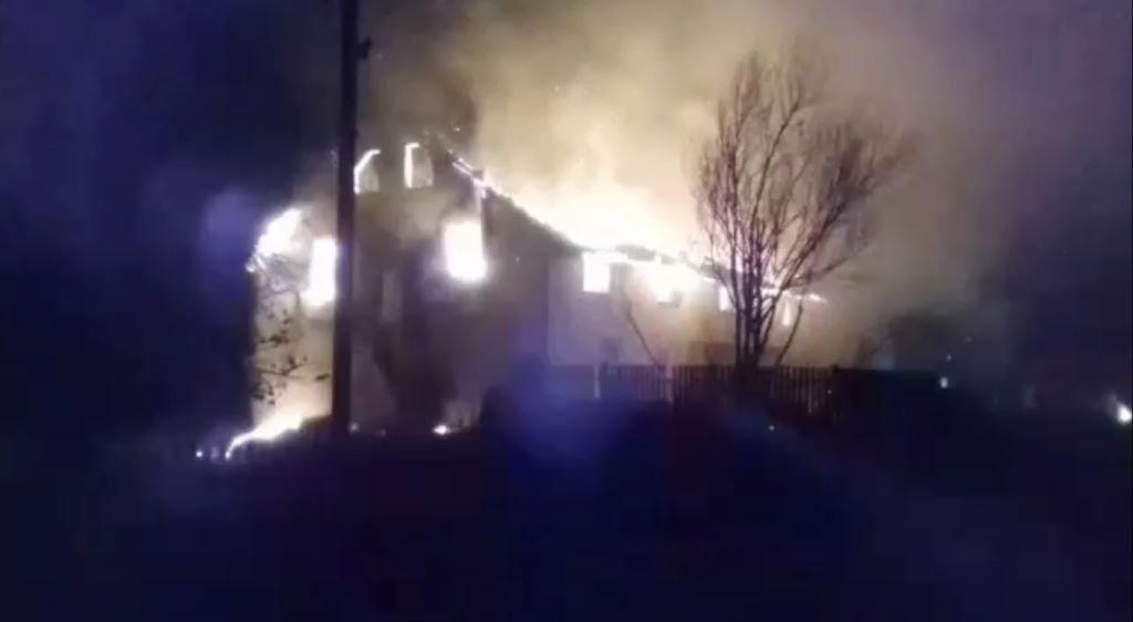 На Волині згоріла нова недільна школа баптистів