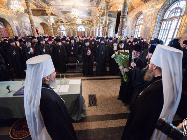 Стара пісня на старий лад. На єпархіальних зборах Київської єпархії УПЦ говорили, як «не зійти з правильної дороги»