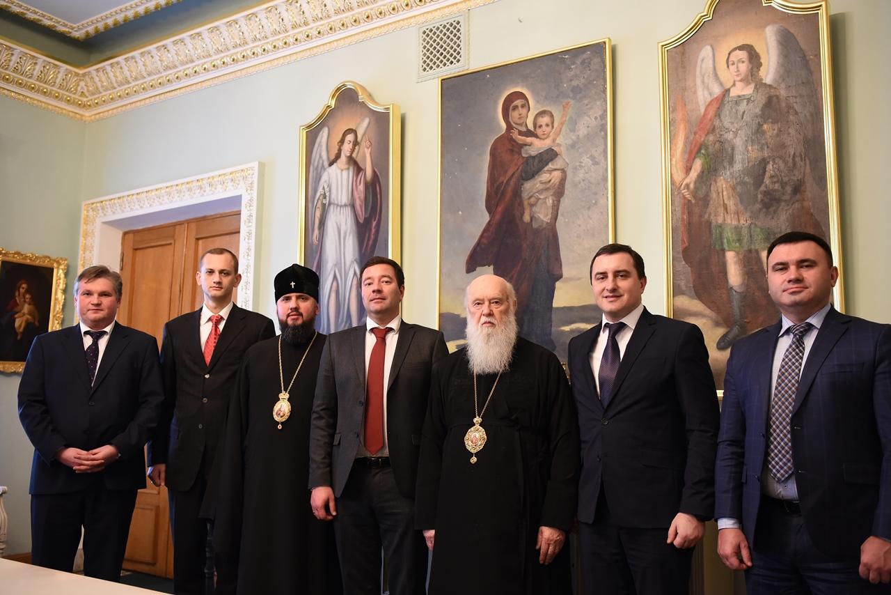 Патріарх Філарет нагородив київських прокурорів